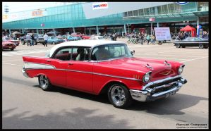1957 Chevy Belair by compaan-art