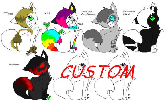 Music Adopts! Open 7/7 by ScarstarFearClan