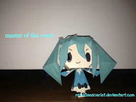 EC Papercrafts - Master of the Court by RemiFlanScarlet
