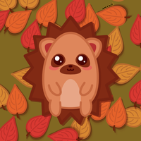 Autumn Hedgie by amis0129