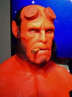 hellboy close up by BobbyC1225