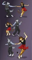 Shall We Dance: The Lindy Hop by RuntyTiger