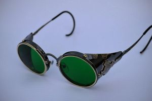 Steampunk goggles by kulik1