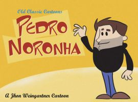 Pedro Noronha old Cartoon by joaobw