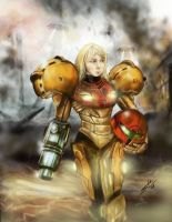 Samus by Sensational22