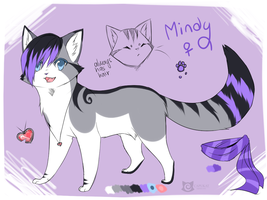 Mindy (redesign) Gift! by Capukat