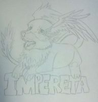 printf (impereta badge)_jawolf by WolvieSyxx
