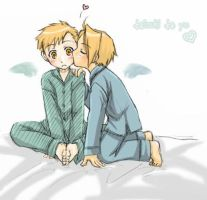cute elric brothers by sketchgirl161