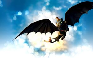Toothless and ... by Shadow-Toothless
