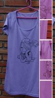 For Sale - Handmade Painting T-Shirt *Book* by Mustique-91