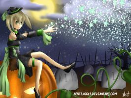 Tonight, Maka is the witch by aehtla023