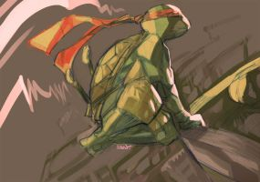 Raph Warm Up by EvanBryce
