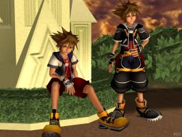 Sora KH2 Pack [XPS] by LexaKiness