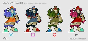 Stun costume colors by rbl3d