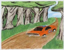 THE GENERAL LEE by shawncomicart