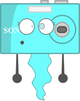 Camera As A Ghost Vector by thedrksiren