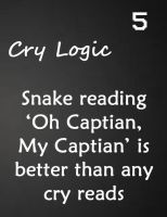 Cry logic 5 by Tigerwolflover