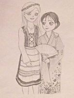 From Norway to Japan by sketchartist6