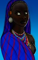 African Beauty by Kevsoraone
