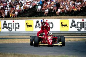 Jean Alesi (Hungary 1995) by F1-history