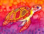 Seaturtle Spirit by PaintMyWorldRainbow