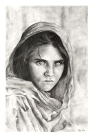 Afghan Girl by november-branches