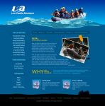Lost Paddle Adventure website by iTechies