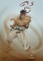 Old Ryu by thatSanj