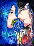 Song of the blue Rose by Goay