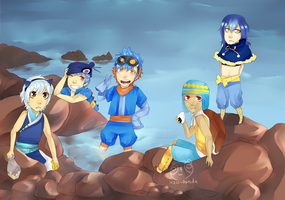 water starters by Pandastrophic