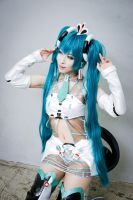 Vocaloid : 2012 Racing Miku by miyoaldy