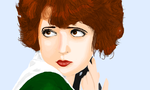 Clara Bow by nin10doh