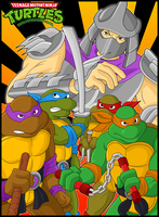 TMNT 90s by Sauron88