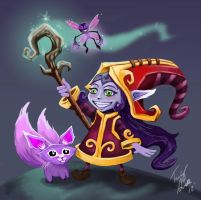 Lulu - League of Legends by skyehopper
