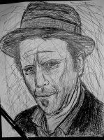 Tom Waits by SpiderRainboots