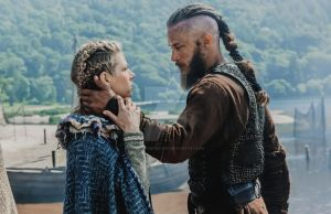 Vikings {Ragnar and Lagertha} by ElenaFioreFernsby