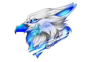 Griffon Blue ^^ by BlueDuskWolf