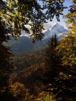 Autumn in the Mountains by Notandanavn