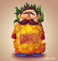 Pineapples sale by ChristinaKingma