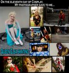 On the eleventh day of Cosplay... by Lossien