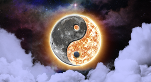 Yin and Yang Universe by Neyuu
