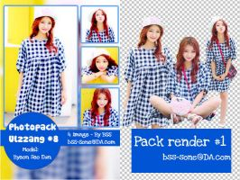 PHOTOPACK ULZZANG #8 and PACK RENDER #1 by bss-sone