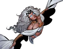 Storm by Phil Jimenez by Ghostwise7