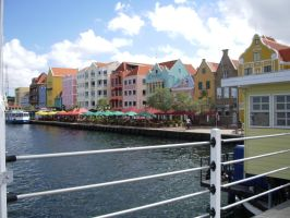 Curacao Boardwalk by PantherPawCreations