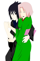 sasusaku  kawaii by Bleach-Fairy