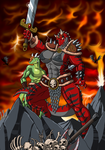 Fang the barbarian by Lordstevie