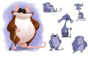 One blind mouse by Jtown67