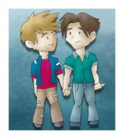 Gay Couple by blue-fusion