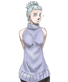 +BnHA OC+ Killer sweater doodle by Nicas-Tan