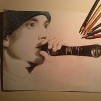 Eminem WIP by Tropical-Rain